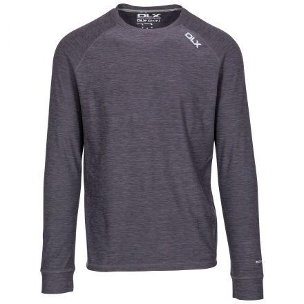 Callum Men's DLX Antibacterial Long Sleeve T-Shirt - BKM