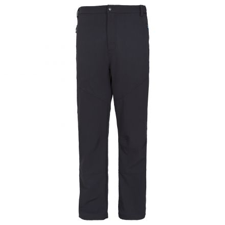 Canyon Mens Stretch Walking Trousers in Black