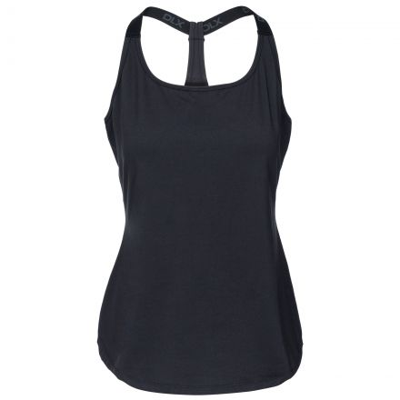 Celise Womens Quick Drying Sports Vest in Black