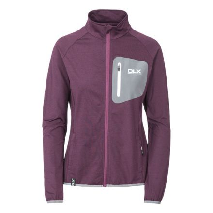Darby Womens Full Zip Active Jacket in Purple