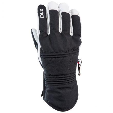 Derigi Adults Waterproof Ski Gloves in Black