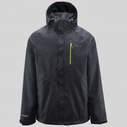 Dupree Mens Waterproof Jacket in Black