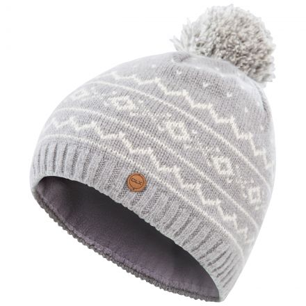 Holbray Adults Knitted Hat in Grey