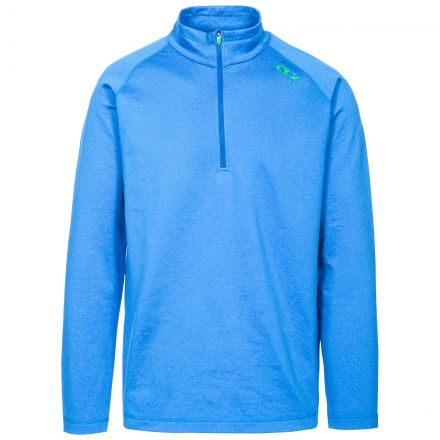 Jozef Mens Long Sleeved Active Top - BLU