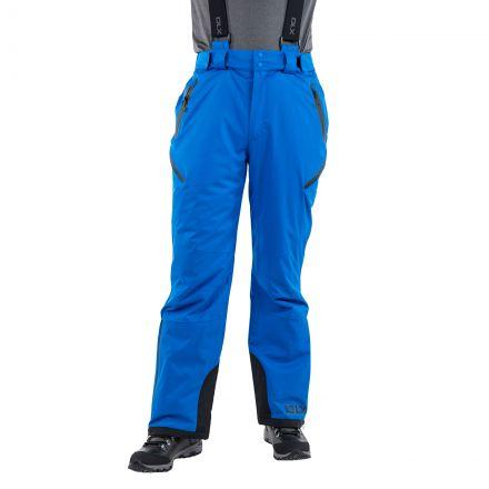 Kristoff Men's Insulated Stretch Ski Pants in Blue