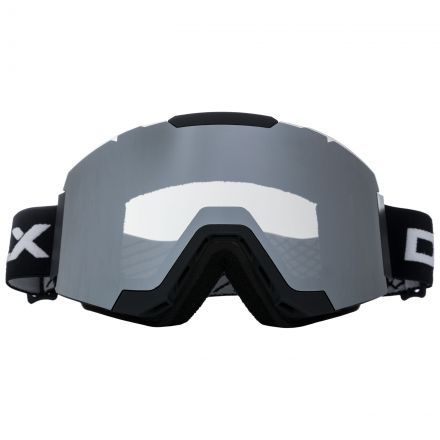 Magnetic Adults Changeable Lense Ski Goggles in Black