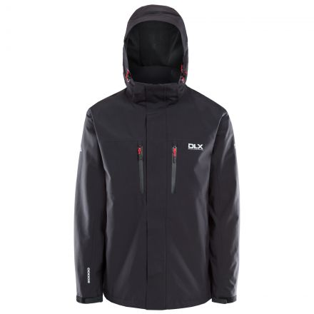 Oswalt Men's Waterproof Jacket in Black