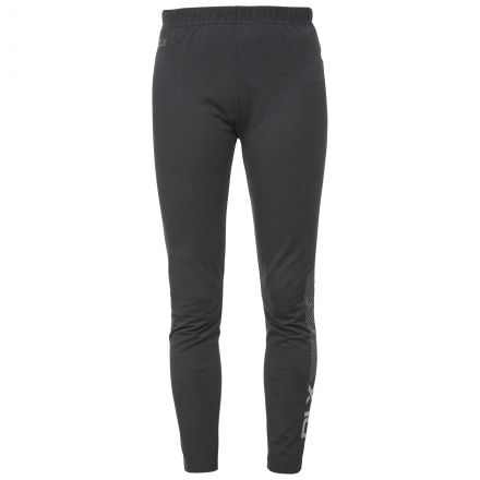 Splits Womens Black Active Leggings in Black