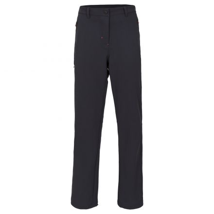 Swerve Womens Water Repellent Walking Trousers in Black