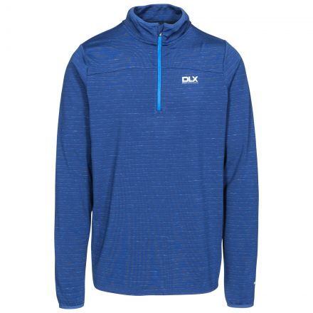 Wilks Mens Long Sleeved 1/4 Zip Pullover Fleece - TWI