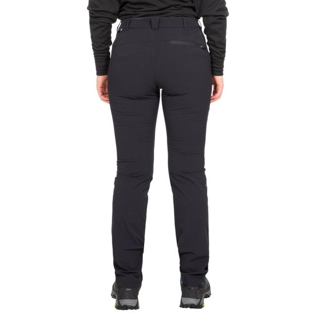 Moreno Women's DLX Eco-Friendly Walking Trousers - BLK