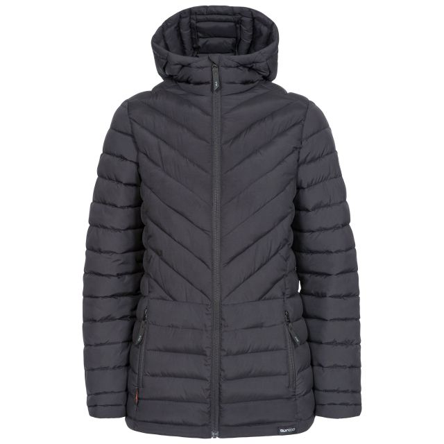 Althea Women's DLX Eco-Friendly Padded Jacket - BLK