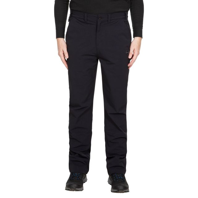 Hades Men's DLX Eco-Friendly Walking Trousers - BLK