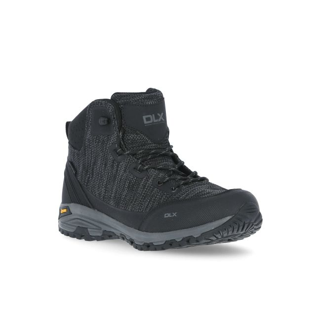 Aitkan Men's DLX Vibram Walking Boots - BLK
