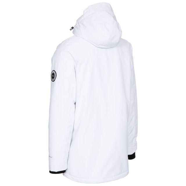 Harris Men's DLX Padded Sherpa Lined Waterproof Jacket - WHT