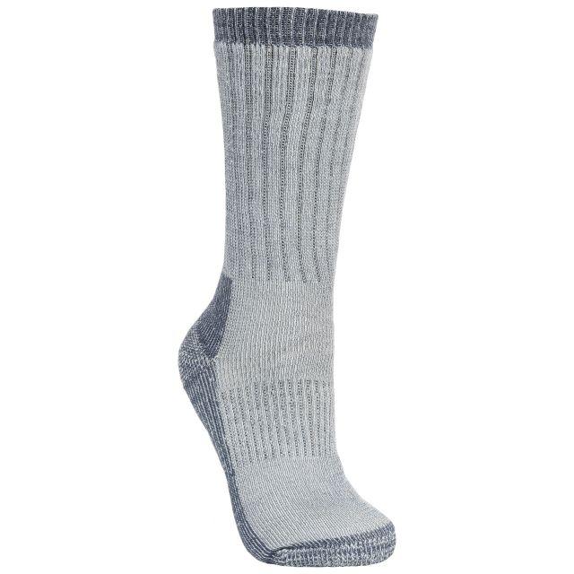 Strolling Mens Grey Anti Blister Walking Socks in Light Grey
