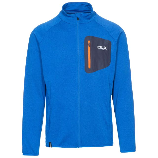 Colson Mens Long Sleeved Active Top in Blue
