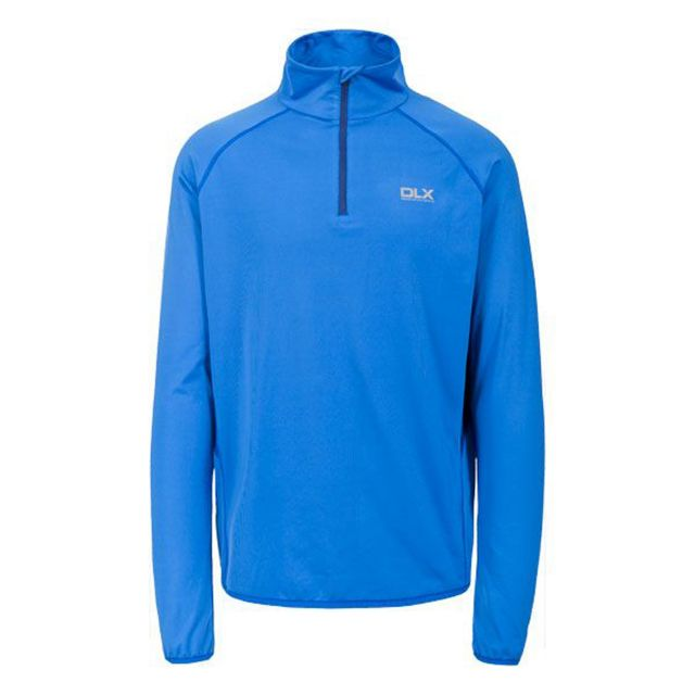 Brennen Mens Long Sleeved Active Top in Blue