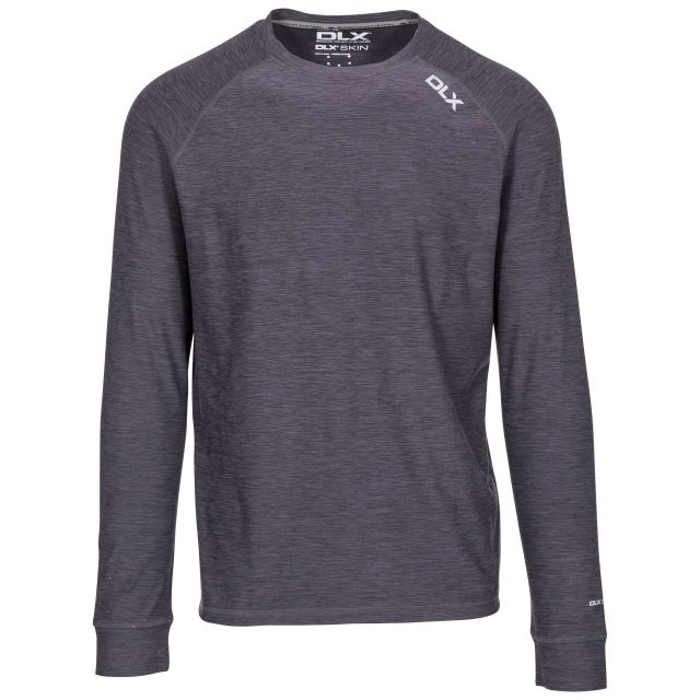 Callum Men's DLX Antibacterial Long Sleeve T-Shirt - BKM