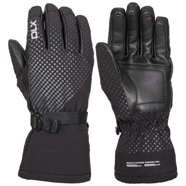 Alazo DLX High Performance Ski Gloves - BLK