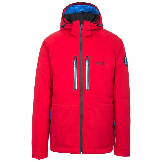 Allen Mens Waterproof Ski Jacket - RED