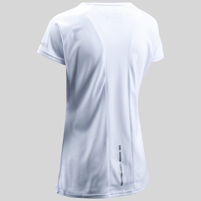 Alonza Womens Quick Dry T-shirt  in White