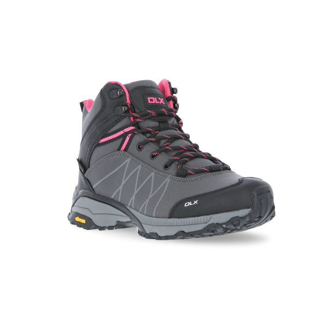 Arlington II Womens Walking Boots in Grey