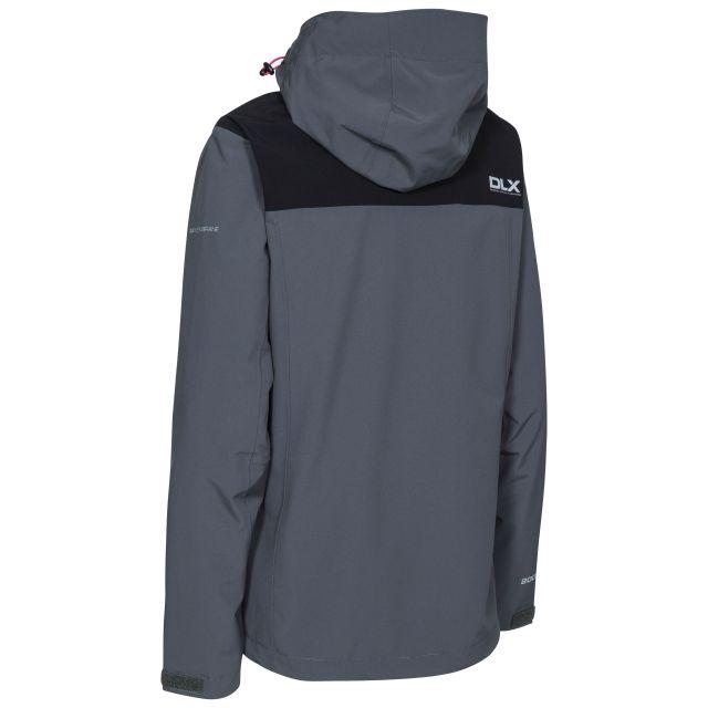 Audray Womens Breathable Waterproof Jacket in Grey