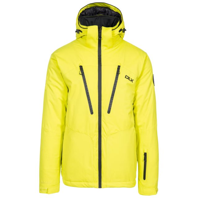 Banner Men's DLX Waterproof RECCO Ski Jacket in Neon-Green
