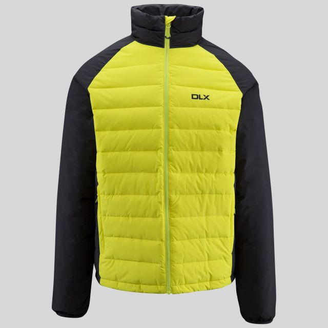 Benko Men's DLX Waterproof Down Jacket in Neon Green