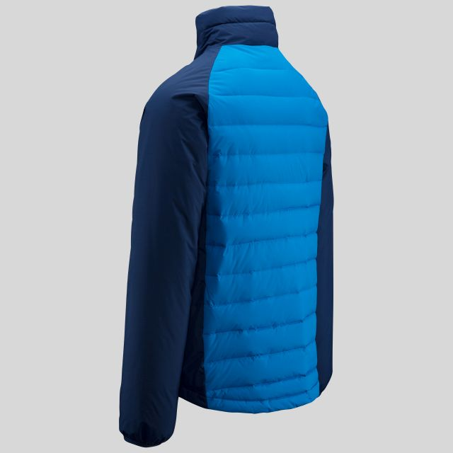Benko Men's DLX Waterproof Down Jacket in Blue