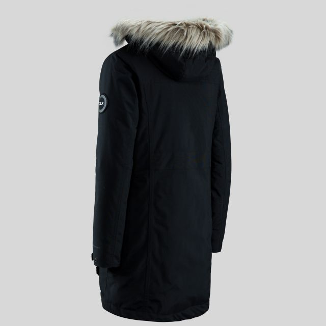 Bettany Women's DLX Waterproof Down Parka Jacket - BLK