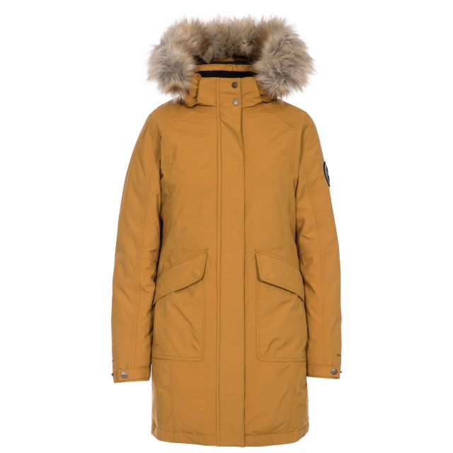 Bettany Womens Waterproof Down Parka Jacket - SAN