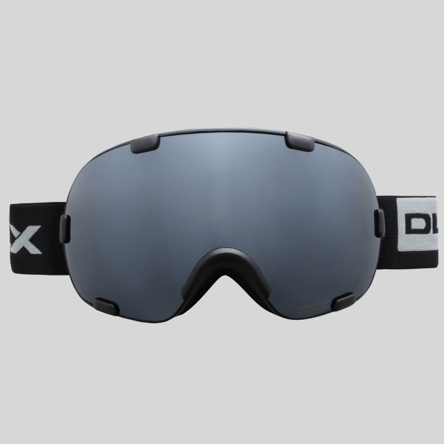 Bond Adults' Mirrored Dual Lens Ski Goggles in Black