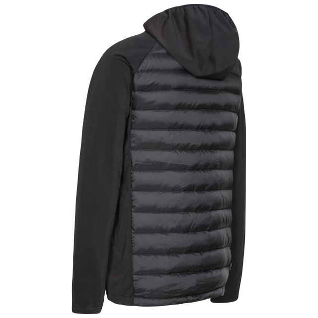 Cade Mens Hydrophobic Down Jacket in Black