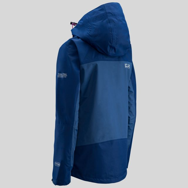 Calissa Women's DLX Hooded Waterproof Jacket  in Navy