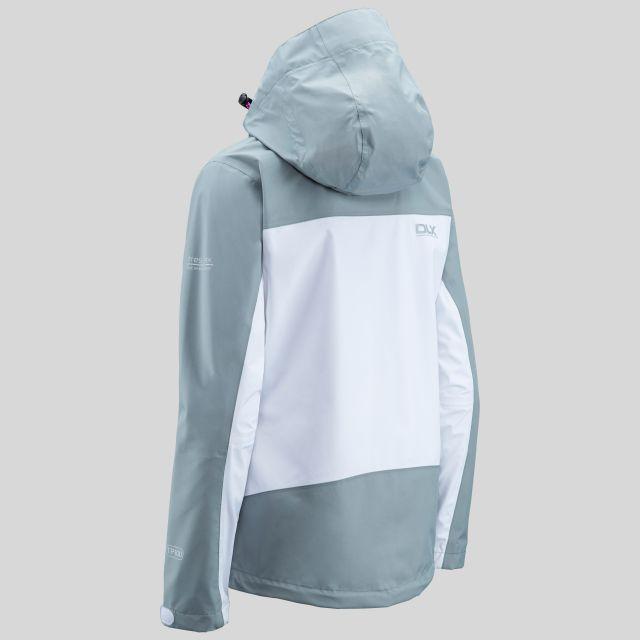 Calissa Women's DLX Hooded Waterproof Jacket  in White