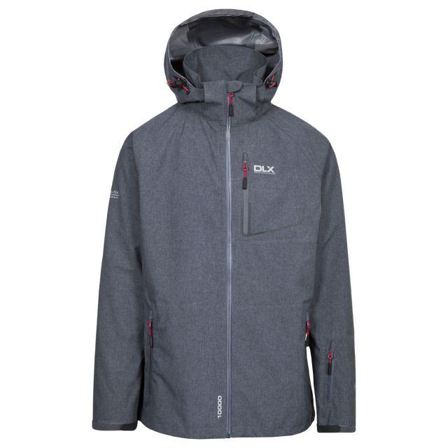 Caspar Mens Waterproof Jacket in Grey