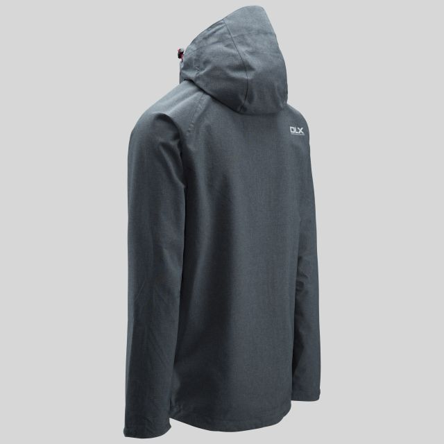 Caspar Mens Waterproof Jacket in Grey