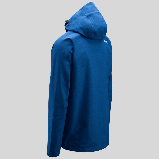 Caspar II Mens Waterproof Jacket in Navy