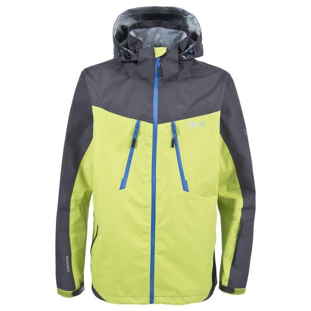 Cassius Mens Waterproof Jacket in Orange