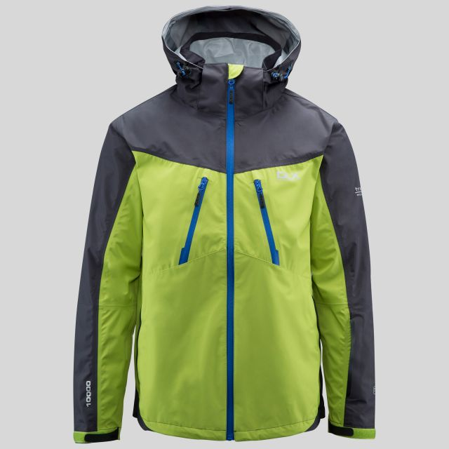 Cassius Mens Waterproof Jacket in Orange