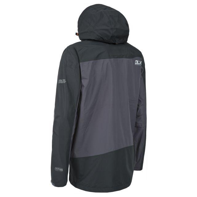 Cassius Mens Waterproof Jacket in Grey