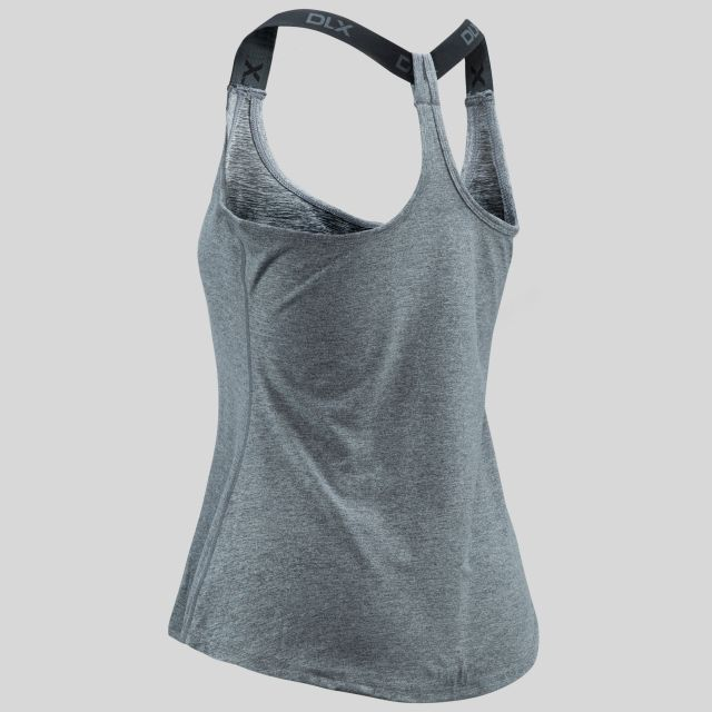 Celise Womens Quick Drying Sports Vest in Light Grey