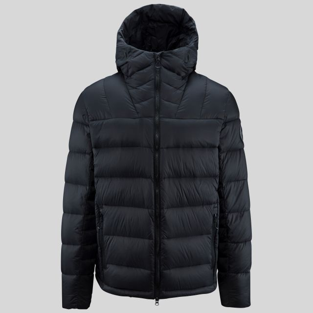 Chadwick Men's DLX Hooded Down Jacket in Black