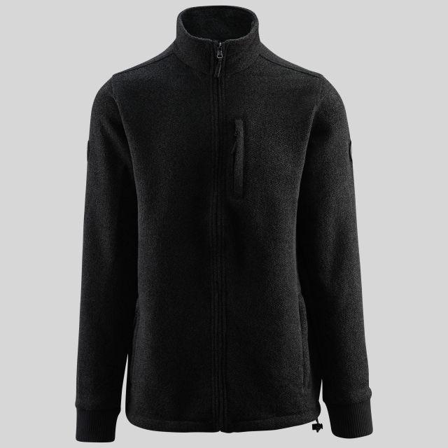 Conway Mens Zipper Fleece in Grey