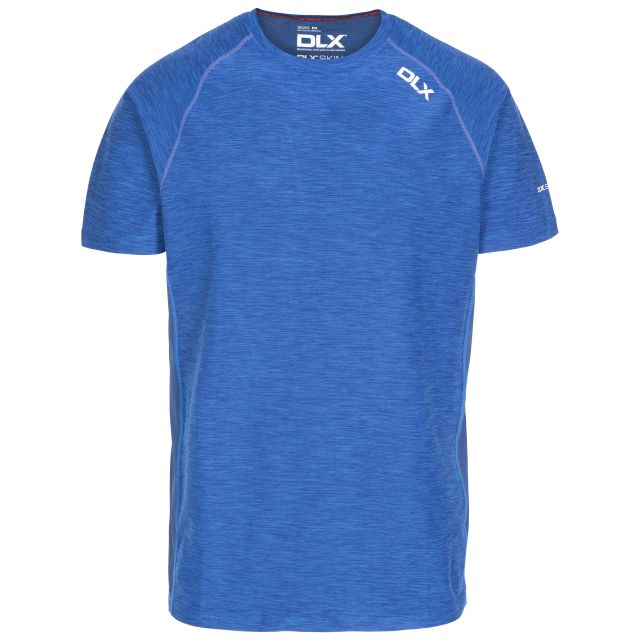 Cooper Men's DLX Active T-Shirt in Blue