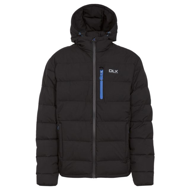 Crane Mens Down Jacket in Black