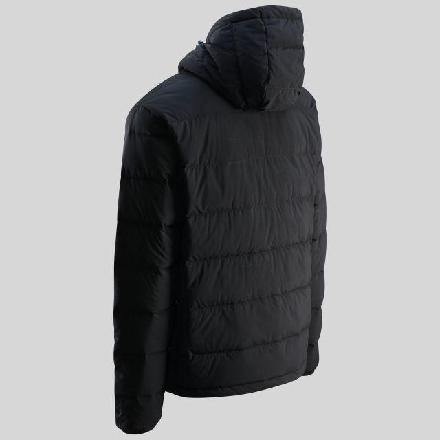 Crane Mens Down Jacket in Black