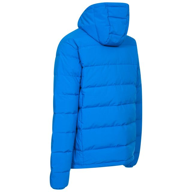 Crane Mens Down Jacket - BLU